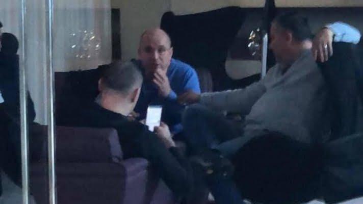 Cozmin Guşă şi Dan Andronic, întâlnire la Belgrad cu Sebastian Ghiţă