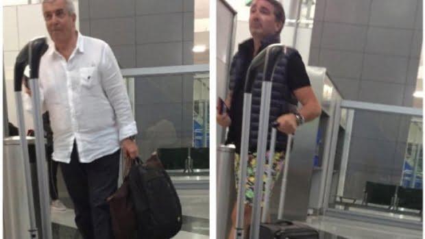 Tăriceanu şi un baron PSD în DUBAI. Detalii interesante despre pozele făcute pe aeroport