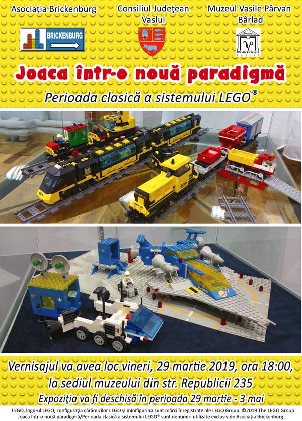 """Expozitia temporarã """"Joaca într-o nouã paradigmã-Perioada clasicã a sistemului Lego®"""" (VIDEO)"""