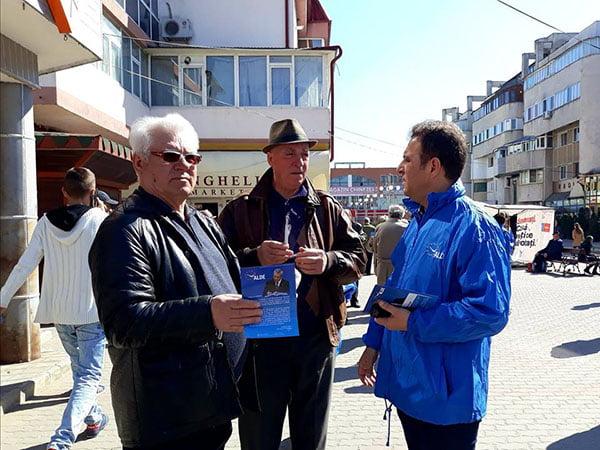 """Mesajul deputatului Olteanu cãtre toti vasluienii: """"Sã votãm oamenii care vor face ceva pentru zona noastrã!"""""""