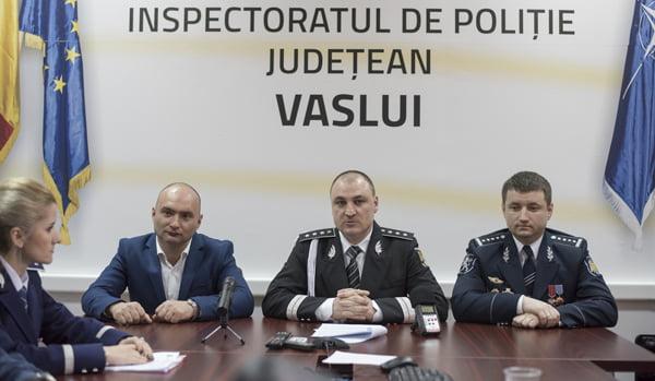 Vizite internationale si avansãri în grad de Ziua Politiei