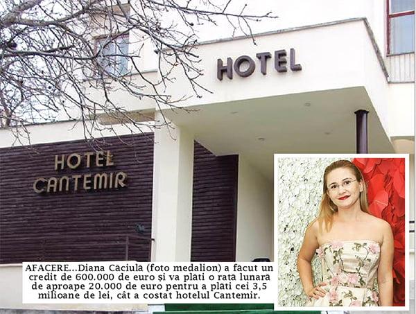 Familia Cãciulã a scos milionul pentru hotel, dar n-are bani de gaz