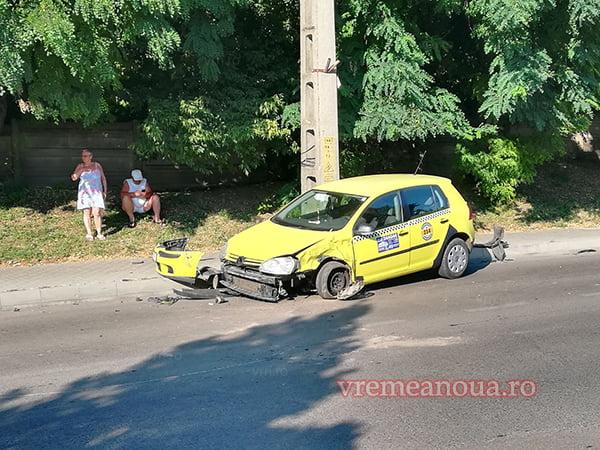 Accident în lant la intrare în municipiul Vaslui