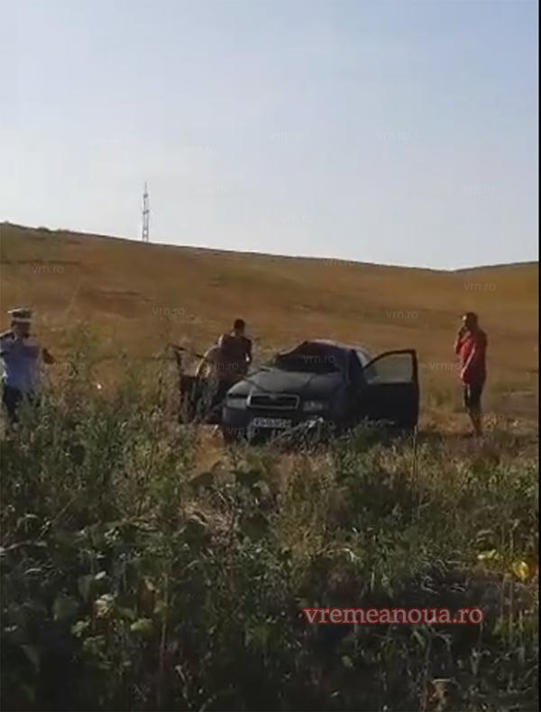 O familie din Muntenii de Jos, la un pas de moarte la iesirea din Bârlad (VIDEO)
