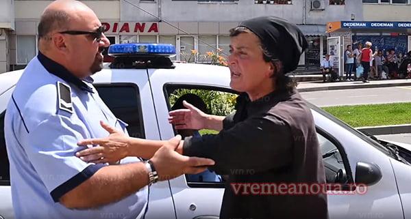 Douã mãicute aghezmuite l-au descoperit pe « Sfântul » de la Politia Localã