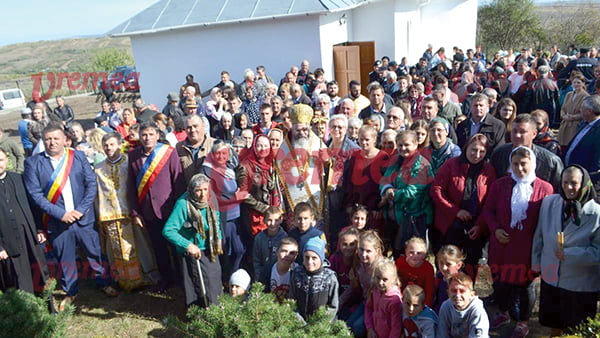 Povestea Bisericii din Tîfu, comuna Banca! Istorie sfintitã de PS Ignatie! (FOTO, VIDEO)