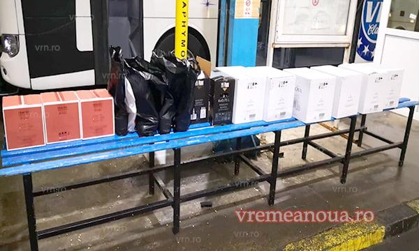 Peste 120 de litri ce alcool confiscate în Vama Albita
