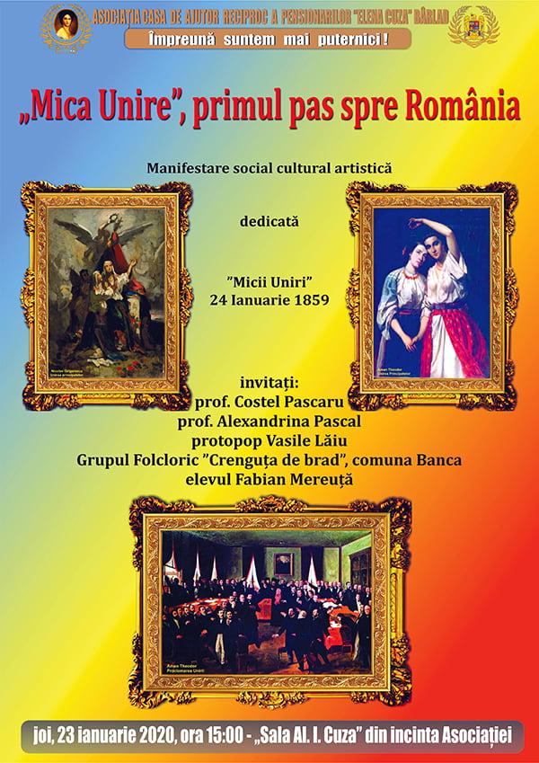 """""""Mica Unire, primul pas spre România"""""""