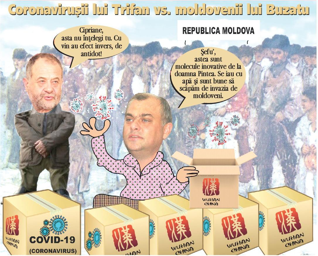Trifan a adus coronavirusul la Vaslui, pentru a decima populatia invizibilã de cetãteni moldoveni | PAMFLET