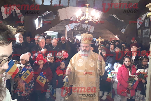 Sfintirea Bisericii din Crâng, în Dumnica Fiului Risipitor (FOTO, AUDIO)