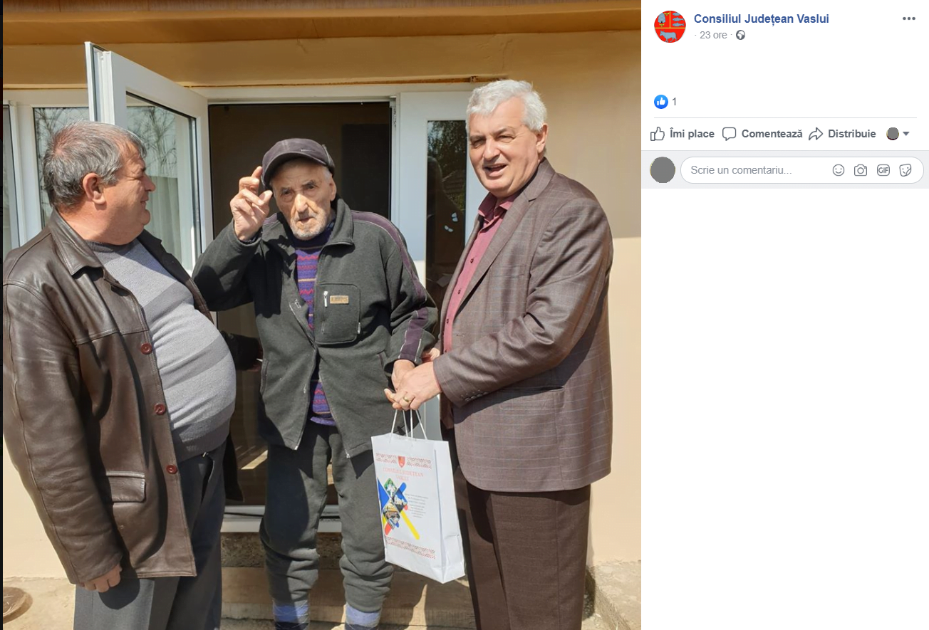 Administratorul comunei Drânceni
