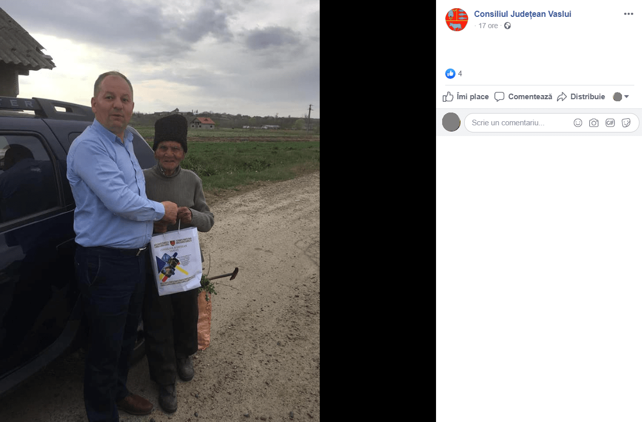 Primarul comunei Todiresti