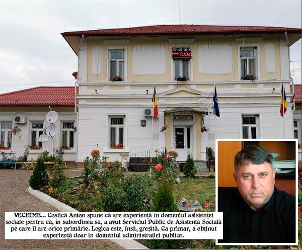 Fostul primar al comunei Vulturesti încearcã, din nou, sã dribleze legea