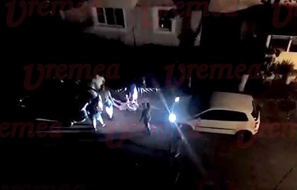EXCLUSIV: Acțiune în forță a Poliției Bârlad! Doi indivizi încătușați, al treilea a fugit! (VIDEO)