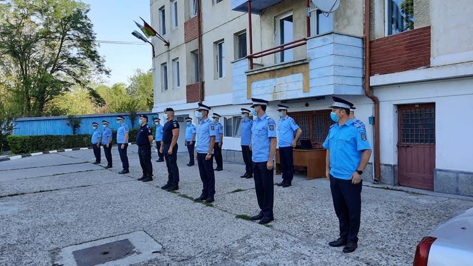 Ceremonial de înaintare în grad la Inspectoratul Județean de Jandarmi